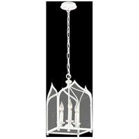 Troy Lighting York 3 Light Pendant in White F3613
