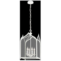 Troy Lighting York 4 Light Pendant in White F3614