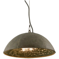 Troy Lighting Relativity 4 Light Pendant in Salvage Zinc With Chalkboard Interior F3654