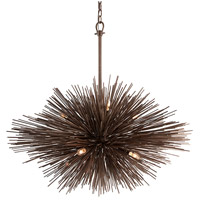 Troy Lighting Uni 8 Light Pendant in Tidepool Bronze F3668