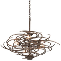 Revolution 5 Light 29 inch Revolution Bronze Pendant Ceiling Light