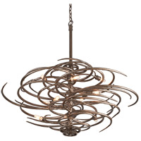 Revolution 10 Light 44 inch Revolution Bronze Pendant Ceiling Light