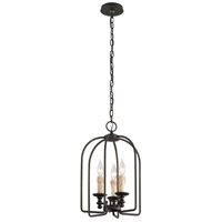 Troy Lighting Chesapeake 3 Light Pendant in Forged Bronze F3693