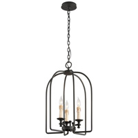Troy Lighting Chesapeake 3 Light Pendant in Forged Bronze F3694