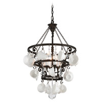 Troy Lighting Barista 4 Light Chandelier in Vintage Bronze F3824