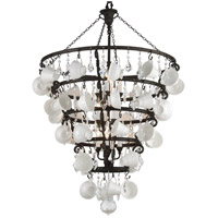 Barista 12 Light 36 inch Vintage Bronze Chandelier Ceiling Light