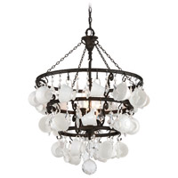 Troy Lighting Barista 6 Light Chandelier in Vintage Bronze F3827