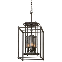 Troy Lighting Atlas 3 Light Pendant in Aged Pewter F3833