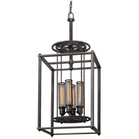 Troy Lighting Atlas 4 Light Pendant in Aged Pewter F3834