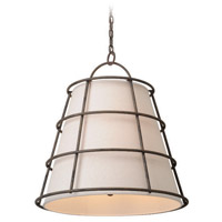 Troy Lighting Habitat 4 Light Pendant in Liberty Rust F3904
