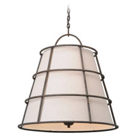 Troy Lighting Habitat 6 Light Pendant in Liberty Rust F3906