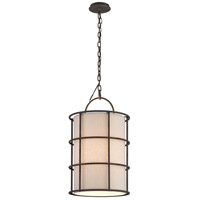 Troy Lighting Haven 4 Light Pendant in Liberty Rust F3914