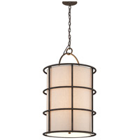 Troy Lighting Haven 6 Light Pendant in Liberty Rust F3916