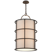 Troy Lighting Haven 8 Light Pendant in Liberty Rust F3918