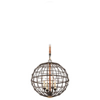 Latitude 2 Light 18 inch Liberty Rust Pendant Ceiling Light
