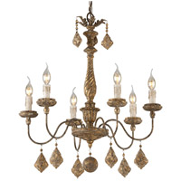 Calais 6 Light 26 inch Chandelier Ceiling Light