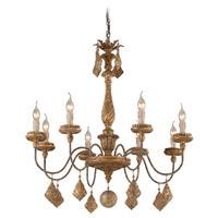 Calais 8 Light 33 inch Chandelier Ceiling Light
