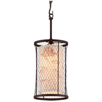 Troy Lighting F4023 Catch N Release 1 Light 8 inch Angler Bronze Mini-Pendant Ceiling Light