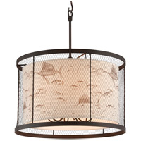 Catch N Release 6 Light 30 inch Pendant Ceiling Light