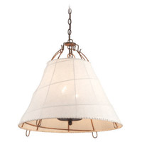Gulf Stream 4 Light 26 inch Pendant Ceiling Light