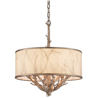 Troy Lighting Whitman 4 Light Pendant in Vienna Bronze F4104