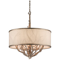 Troy Lighting Whitman 6 Light Pendant in Vienna Bronze F4106