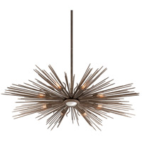 Troy Lighting F4138 Blink 8 Light 49 inch Light Cottage Bronze Pendant Ceiling Light