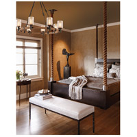 Troy Lighting F4156 Embarcadero 8 Light 30 inch Chandelier Ceiling Light  alternative photo thumbnail