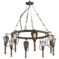 Troy Lighting F4176 Yardhouse 8 Light 37 inch Pendant Ceiling Light