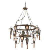 Troy Lighting Yardhouse 12 Light Pendant F4177