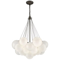 Troy Lighting Nuage 3 Light Pendant in Vintage Bronze F4213