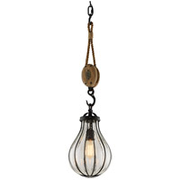 Troy Lighting F4904 Murphy 1 Light 9 inch Vintage Iron Pendant Ceiling Light