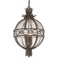 Troy Lighting Campanile 3 Light Outdoor Hanging Lantern in Campanile Bronze F5008CB