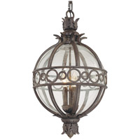 Troy Lighting Campanile 4 Light Outdoor Hanging Lantern in Campanile Bronze F5009CB