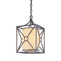 Troy Lighting F5025blf Maidstone 1 Light 9 Inch Bronze Leaf Out