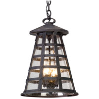 Benjamin 4 Light 13 inch Vintage Iron Outdoor Pendant