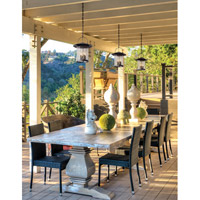 Troy Lighting F5177 Altamont 4 Light 12 inch French Iron Outdoor Pendant alternative photo thumbnail