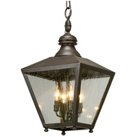 Mumford 4 Light 12 inch Bronze Outdoor Pendant