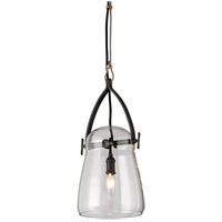 Troy Lighting F5224 Silverlake 1 Light 8 inch French Iron Pendant Ceiling Light