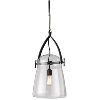 Silverlake 1 Light 12 inch French Iron Pendant Ceiling Light