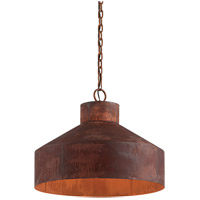Rise & Shine 4 Light 26 inch Rust Patina Pendant Ceiling Light