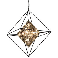 Troy Lighting F5325 Epic 4 Light 18 inch Forged Iron Pendant Ceiling Light