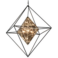 Troy Lighting F5327 Epic 8 Light 30 inch Forged Iron Pendant Ceiling Light