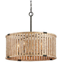 Troy Lighting Stix - Pendant - 32 inchW - Antique Gold Leaf Finish - Antique Gold Leaf Metal F5337
