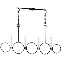 Juliette 4 Light 52 inch Country Iron Chandelier Ceiling Light