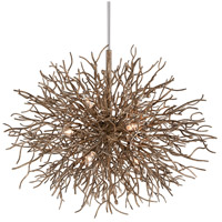 Sierra 9 Light 40 inch Distressed Bronze Pendant Ceiling Light