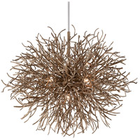Sierra 12 Light 50 inch Distressed Bronze Pendant Ceiling Light
