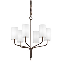 Juniper 6 Light 26 inch Juniper Bronze Chandelier Ceiling Light