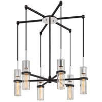 Xavier 6 Light 28 inch Vintage Iron Pendant Ceiling Light