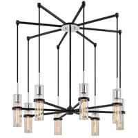 Troy Lighting F6198 Xavier 8 Light 36 inch Vintage Iron Pendant Ceiling Light